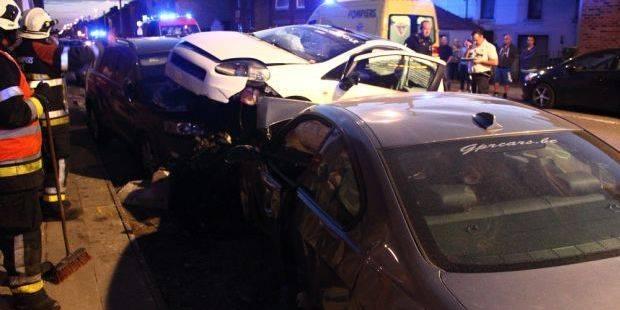 Cinq blessés lors d'une collision à Wanfercée-Baulet - La DH