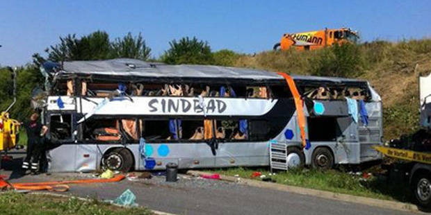 Au moins 9 morts et 43 blessés dans un accident de car à Dresde - La DH