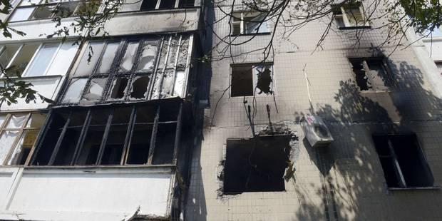 Explosions à Donetsk, Kiev accuse la Russie de préparer une intervention - La DH