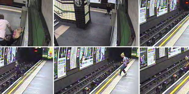 Un bébé jeté sur les rails du métro - La DH