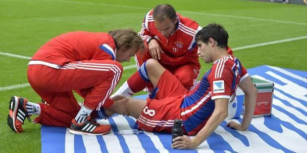 Le Bayern perd déjà un joueur pour 7 mois - La DH