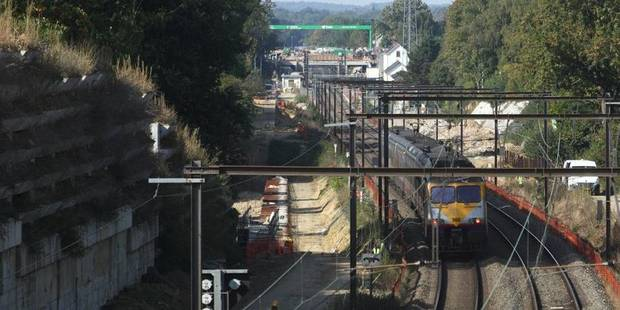 Pas de trains entre Bruxelles et Ottignies jusque dimanche matin - La DH
