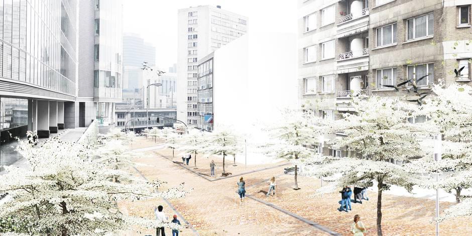 St-Lazare, l'esplanade où il fera bon vivre - La DH