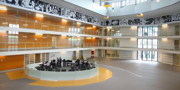 Les détenus de la nouvelle prison de Leuze en colère... car ils manquent d'activités - La DH