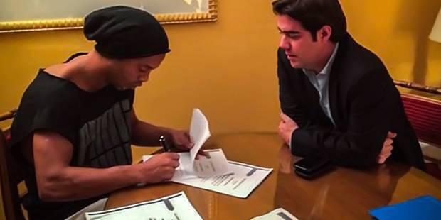 Ronaldinho a trouvé un club - La DH
