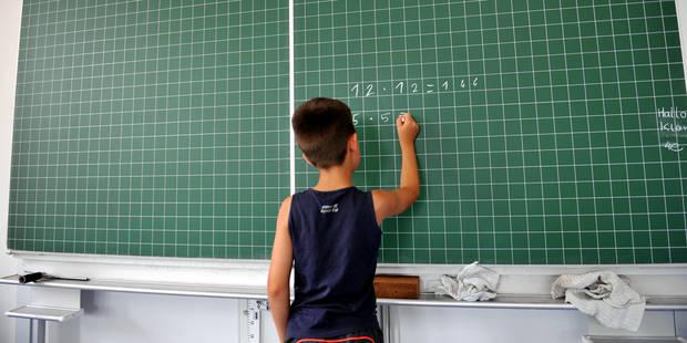 Il y a en moyenne un enseignant pour neuf élèves en Belgique - La DH
