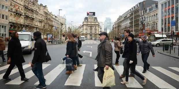 Le centre de Bruxelles bientôt piétonnier? - La DH