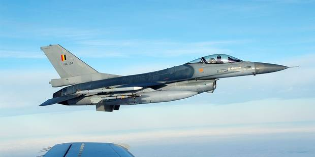 Les F-16 belges sont arrivés en Jordanie - La DH