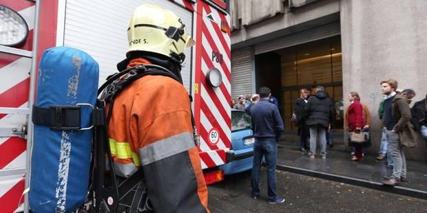 Alerte à la bombe levée au tribunal de police de Bruxelles - La DH