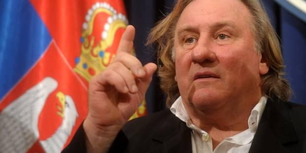 """Depardieu a quitté la France car """"on allait (le) tondre comme en 45"""" - La DH"""