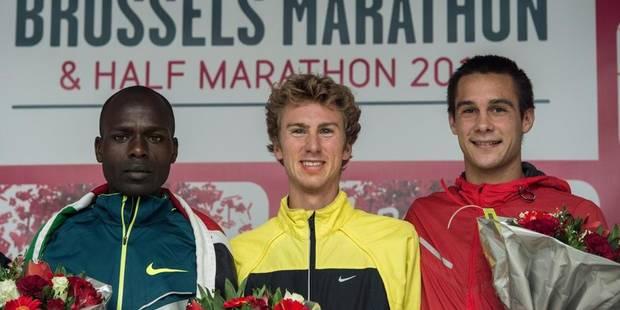 Un Belge vainqueur du marathon de Bruxelles - La DH