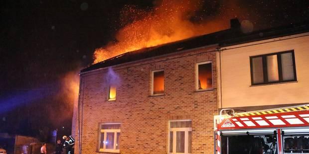 Une famille échappe à un incendie criminel à Lambusart - La DH