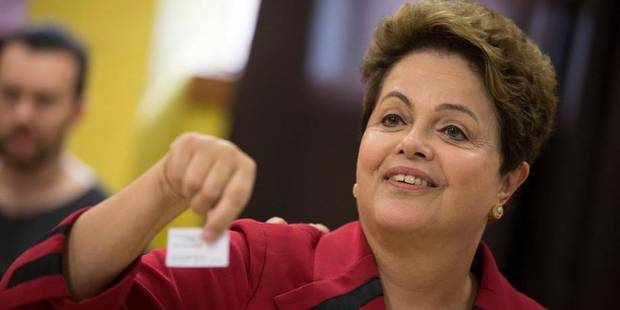 Brésil: Dilma Rousseff arrive en tête au 1er tour de la présidentielle - La DH