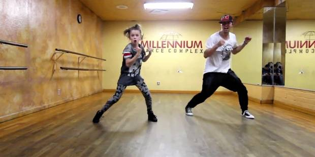 Une gamine de 11 ans future star de la danse - La DH