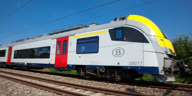 Une personne heurtée par un train: circulation rétablie entre Mouscron et Tournai - La DH