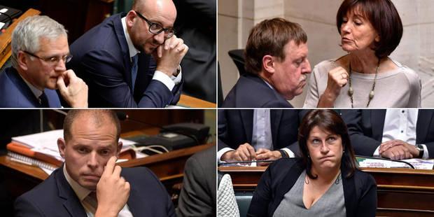 Chahut à la Chambre: Charles Michel hué par Onkelinx et l'opposition - La DH