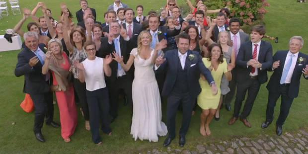Sandrine Corman: la vidéo rigolote de son mariage - La DH