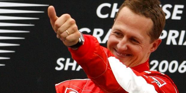 Schumacher progresse, une convalescence de 1 à 3 ans - La DH