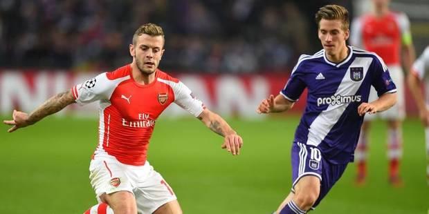 Wilshere sera absent contre Anderlecht - La DH