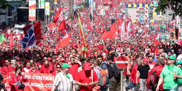 Tous les manifestants syndiqués seront couverts par un préavis de grève - La DH