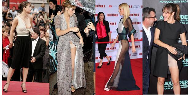Une robe qui vole, une bretelle qui tombe... Quand les stars se dénudent contre leur gré - La DH