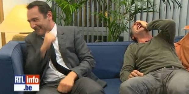 Acteurs film tout for Dujardin rire