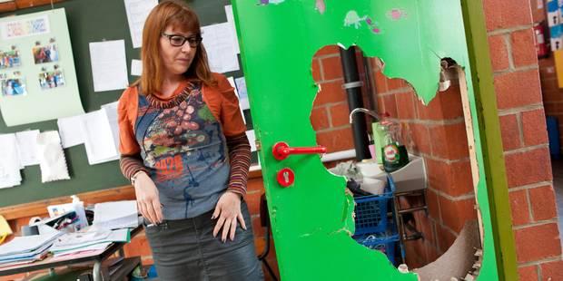 La Louvière: l'école paroissiale totalement retournée - La DH