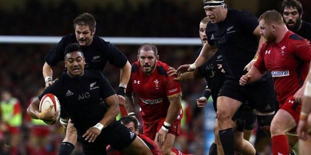 Tournées: victoire difficile des All Blacks au pays de Galles - La DH