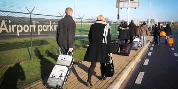 L'accès à l'aéroport de Charleroi est bloqué - La DH