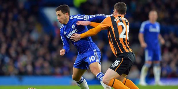 Hazard buteur, passeur et vainqueur avec Chelsea contre Hull City - La DH