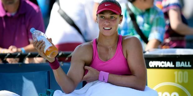 Pour son entraîneur, Yanina Wickmayer peut atteindre le top 10 mondial - La DH