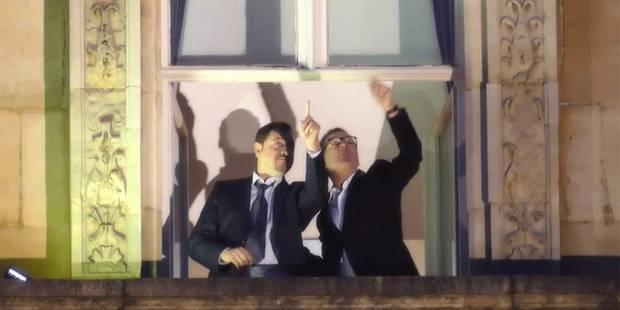 Theo Francken et Hitler évoqués dans une vidéo de voeux soutenue par Yvan Mayeur - La DH