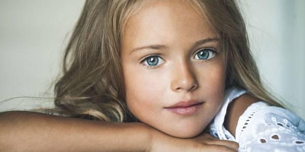 "Kristina Pimenova, ""plus belle petite fille du monde"", ignore sa popularité - La DH"