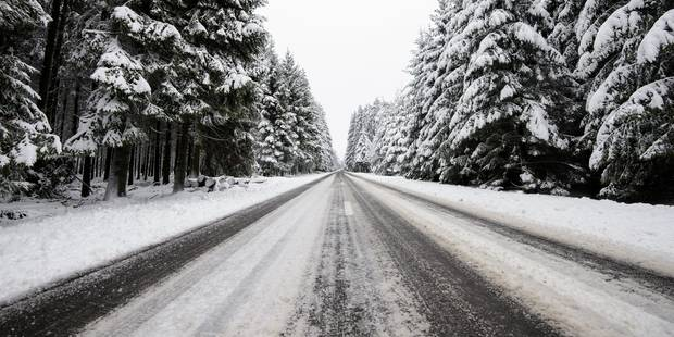 Un conducteur victime des conditions hivernales à Binche - La DH