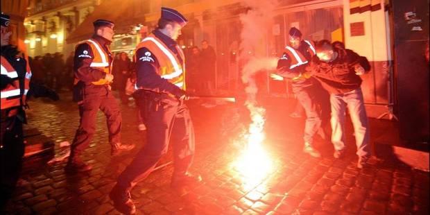 Bruxelles: les policiers sur les dents pour le Nouvel an - La DH