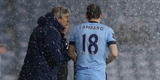 Lampard reste à City - La DH