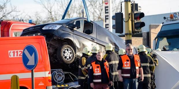 Accident dramatique à Denderleeuw: voici comment s'est passé l'accident - La DH