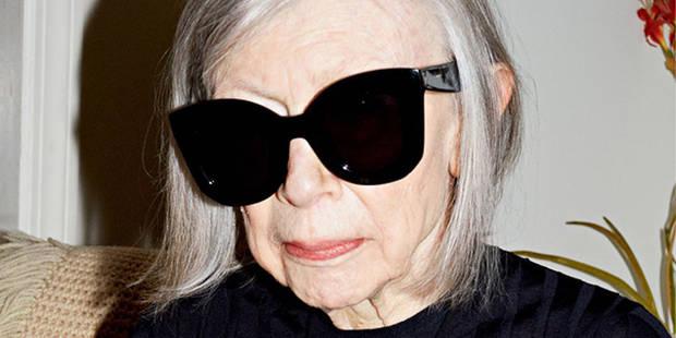 Joan Didion, mamie mannequin pour Céline - La DH