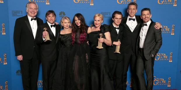"""Golden Globes: """"Boyhood"""" consacré, vibrants hommages à Charlie - La DH"""