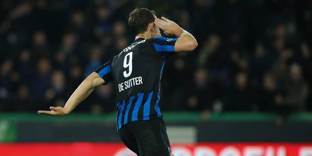 De Sutter sauve Bruges dans les arrêts de jeu (1-1) - La DH