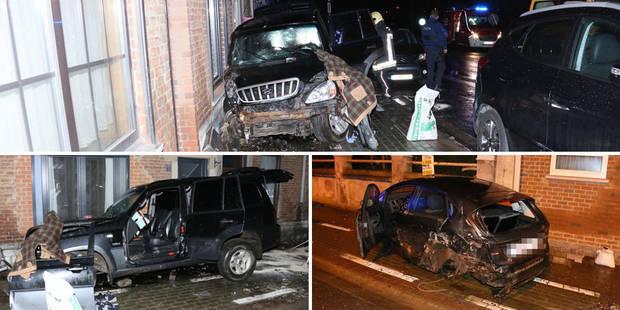 Accident spectaculaire à Châtelet: il percute une voiture et racle des façades - La DH