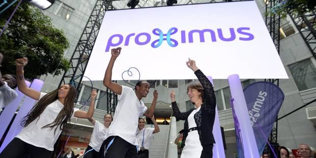 Proximus peut conserver son nouveau logo - La DH