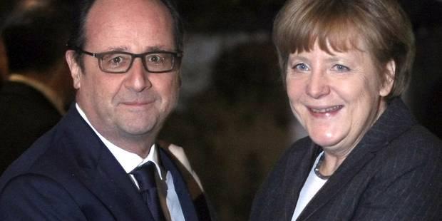 La rencontre discrète entre Hollande et Merkel dans un resto - La DH