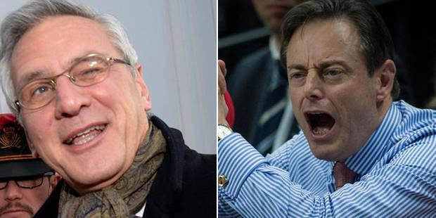"""De Wever attaque le CD&V: """"Une tempête dans un verre d'eau"""", répond Peeters - La DH"""