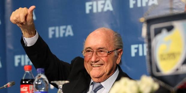 "Blatter: La FIFA ""ne permet pas"" des excès comme le Qatar en handball - La DH"