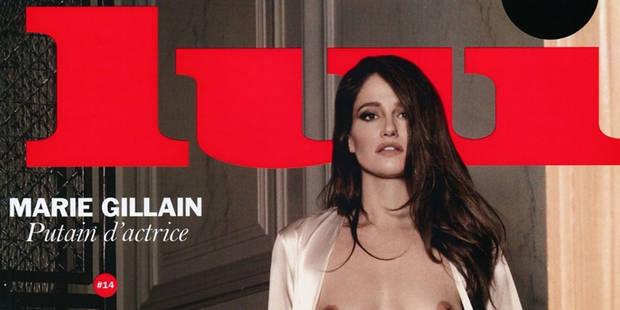 """Marie Gillain nue en couverture de 'Lui': """"C'était le moment de le faire"""" - La DH"""