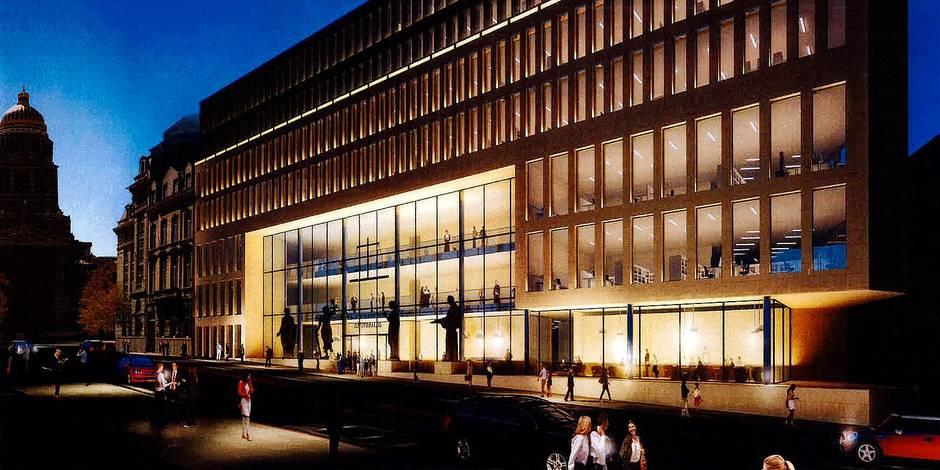 Un nouveau palais de justice de Bruxelles très mal accueilli - La DH