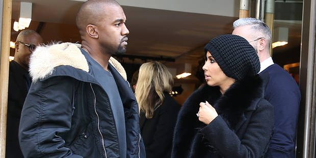 Kim est décidément prête à tout pour être vue - La DH