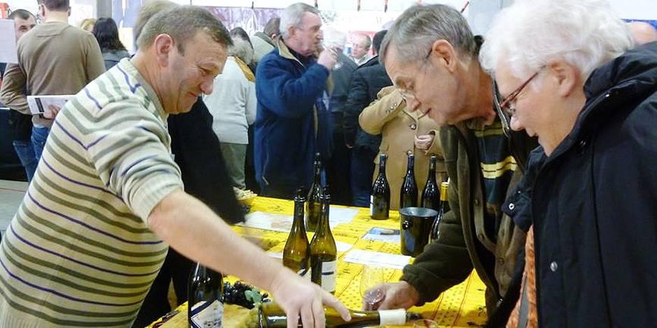 Succ s populaire pour la 6e dition du salon du vin la dh - Floreffe salon du vin ...