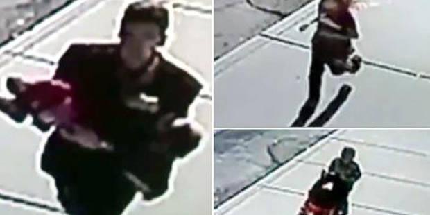 Il tente de kidnapper un bébé mais se fait piéger par des enfants de 10 et 8 ans (VIDEO) - La DH